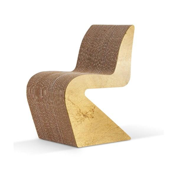 Kartonová židle Amanda Gold