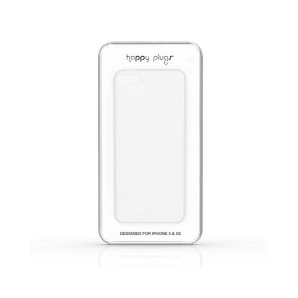 Kryt Happy Plugs na iPhone 5/5S, transparentní