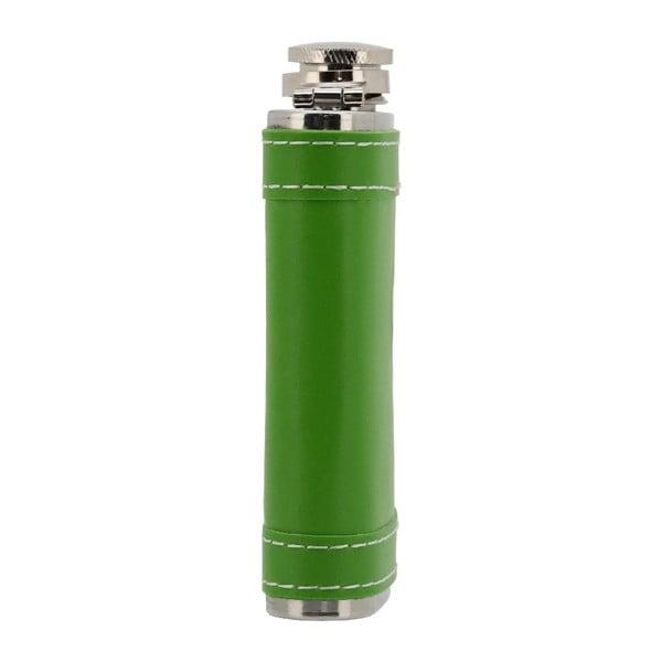 Zelená placatka znerezové oceli Cattara, 175ml