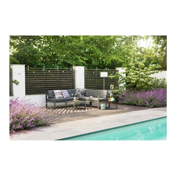 Set mobilier de grădină Hartman Perpignan, negru-gri