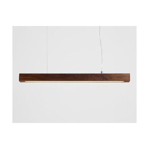 Závěsné svítidlo z ořechového dřeva Custom Form Line Plus M