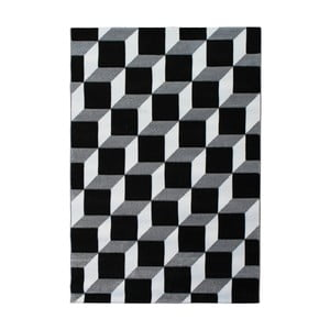 Šedohnědý koberec Tomasucci Kubo, 140x190cm