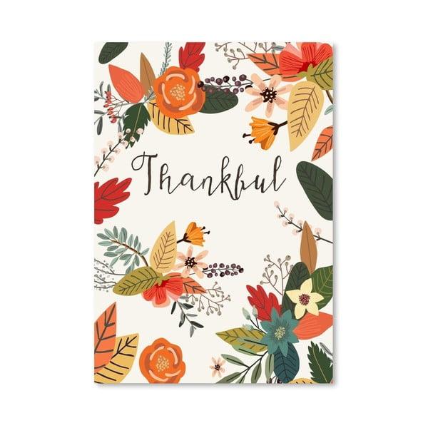 Plakát od Mia Charro - Thankful