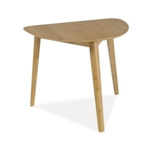 Stůl v dubovém dekoru Signal Karl, 80x90cm