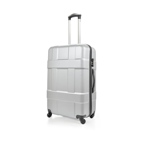 Kufr Luggage Silver, 46 l