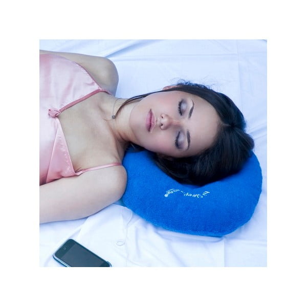 Polštářek s vestavěným reproduktorem hi-Sleep, červený