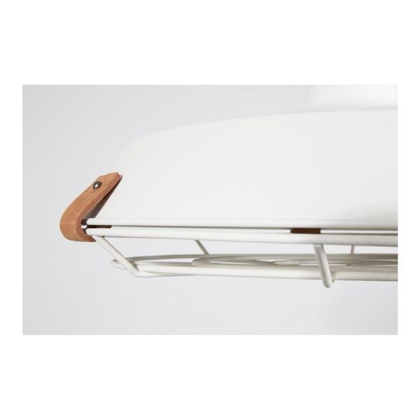 Bílé stropní svítidlo Zuiver Dek, Ø40cm