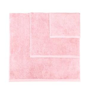 Sada 3 světle růžových ručníků Artex Alfa