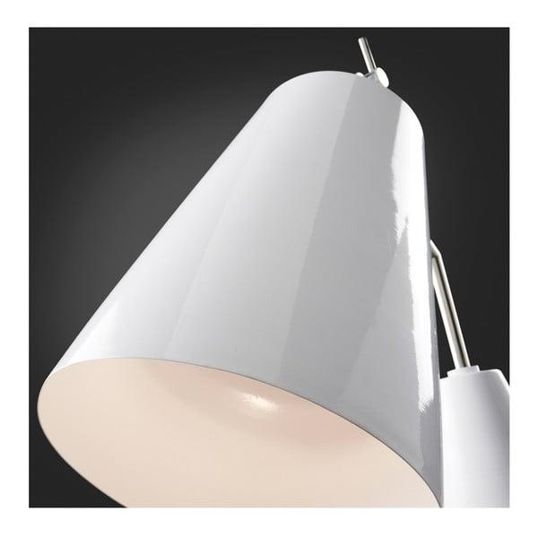 Bílá stojací lampa La Forma Clave