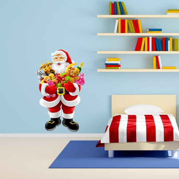 Vianočná samolepka Ambiance Noel Apporte Les Cadeaux