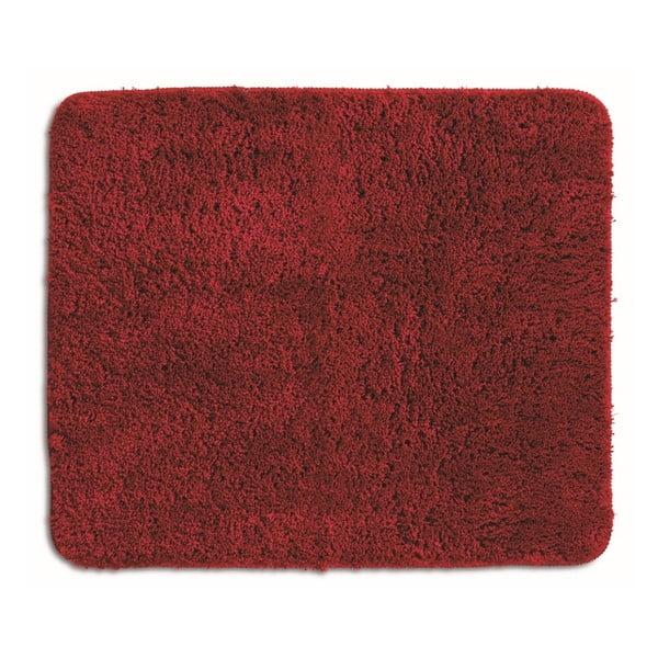 Červená koupelnová podložka Kela Livana