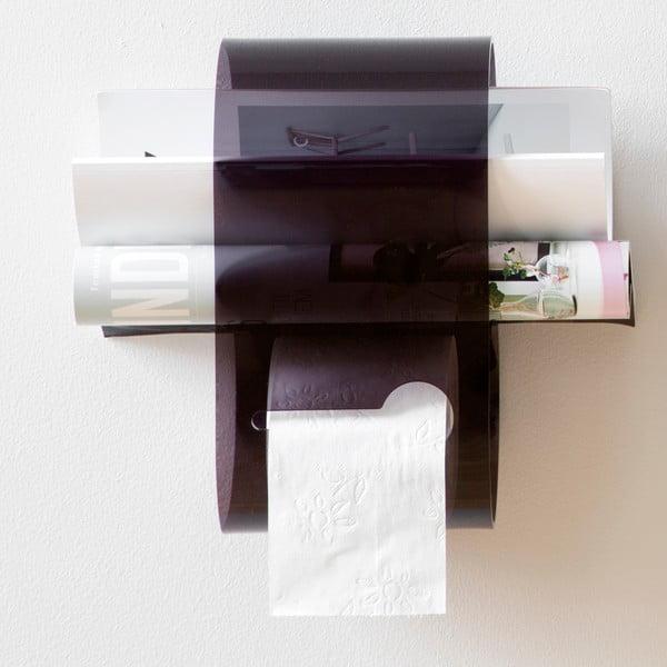 Stojan na toaletní papír B-Roll Black