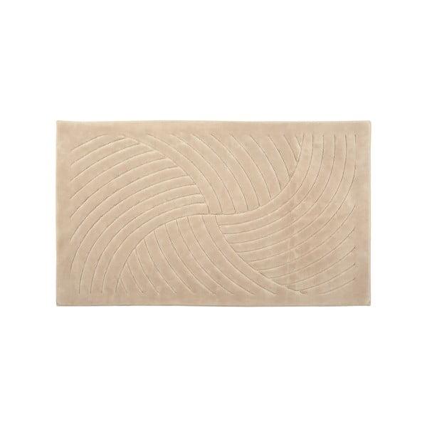 Koberec Waves 120x180 cm, cappuccino