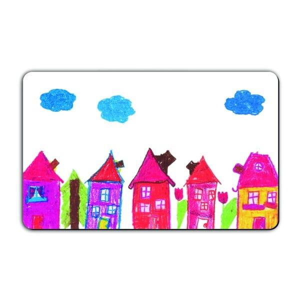 Podložka na krájení pečiva Remember Little Artists, 23,5 x 14,3 cm