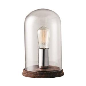 Chromová stolní lampa Herstal Manola