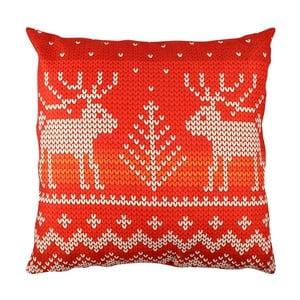Pernă cu cerbi Christmas Knitting