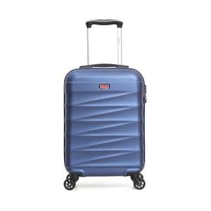 Modrý cestovní kufr na kolečkách Hero Wave