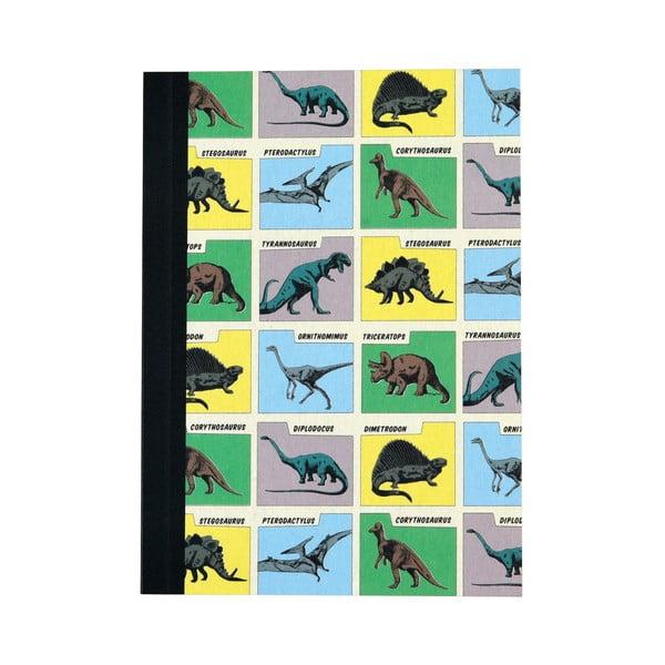 Sada 2 linkovaných sešitů s potiskem dinosaurů Rex London Prehistoric Land