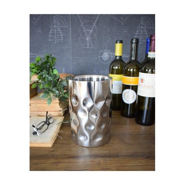 Hliníková chladiaca nádoba na víno Orchidea Milano Lounge, ø 12 cm