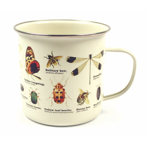 Cană cu model de insecte Gift Republic Insects II