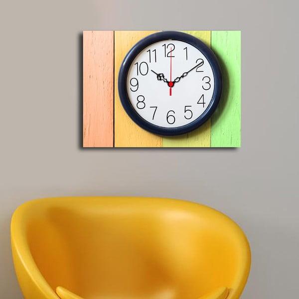 Obrazové hodiny Na stěně