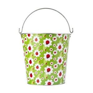 Plechový kbelík Beruška, 12 litrů