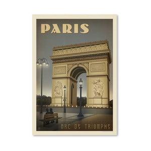 Plakát Americanflat Arc de Triomphe, 42 x 30 cm