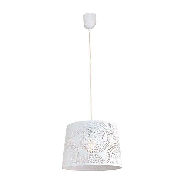 Závěsné světlo Santiago M, bílé