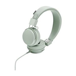 Světle zelená sluchátka s mikrofonem Urbanears PLATTAN II Comet Green