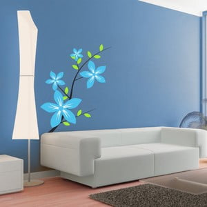 Samolepka Květinová dekorace, 112x90 cm