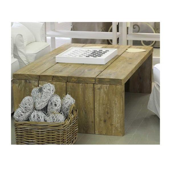 Stolek z recyklovaného dřeva Old Wood, 86x128 cm