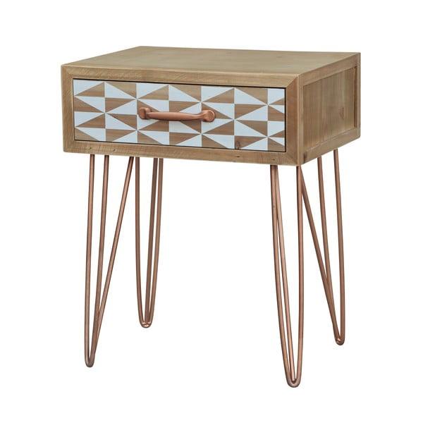 Noční stolek z jedlového dřeva Livin Hill Portofino Duo