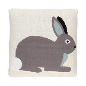 Oboustranný polštář Art For Kids Rabbits, 35x35cm