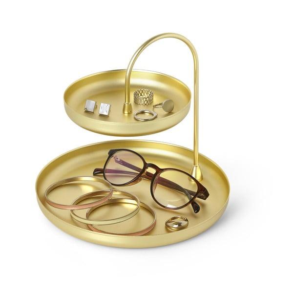 Piętrowy stojak na biżuterię w kolorze złota Umbra Poise