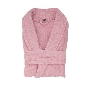 Halat de baie Casa di Bassi, mărime XL/XXL, roz pudră