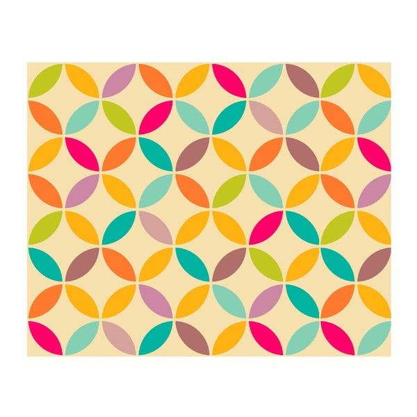 Vinylový koberec Circulos Retro, 99x120 cm