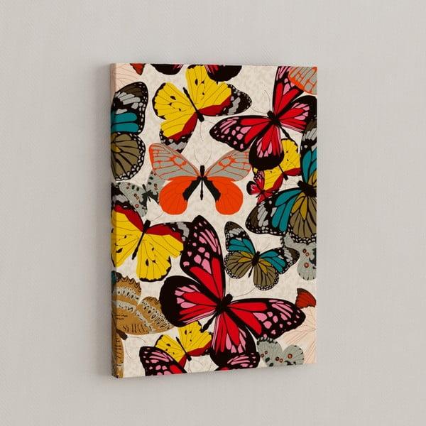 Obraz Motýli třepotají, 50x70 cm