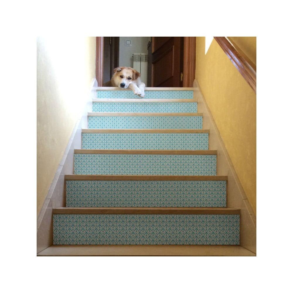 Sada 2 samolepek na schody Ambiance Stairs Stickers Derike, 15 x 105 cm