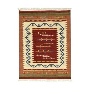 Vlněný koberec Kilim Classic AK04 Mix, 75x125 cm