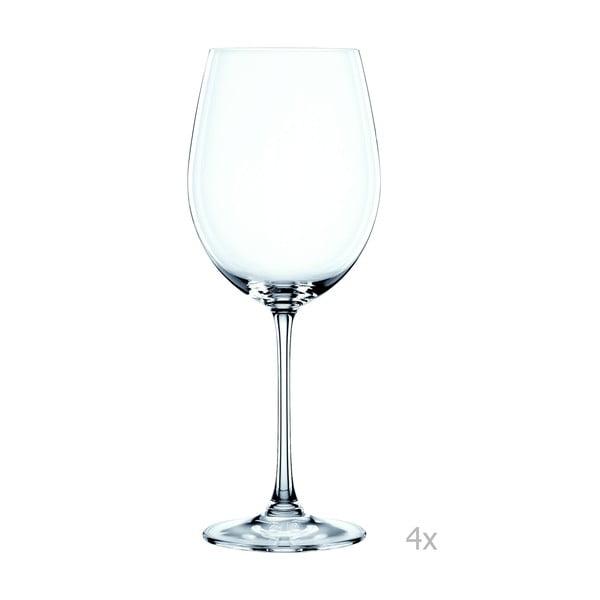 Zestaw 4 kieliszków ze szkła kryształowego Nachtmann Vivendi Premium Bordeaux Komplet, 763 ml