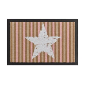 Rohožka Hanse Home Star Stripes Beige, 40 x 60 cm