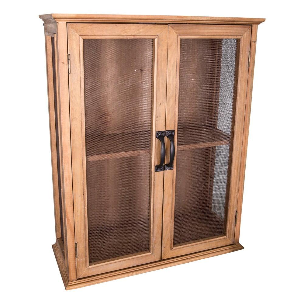 Dvoupatrová dřevěná vitrínka Antic Line