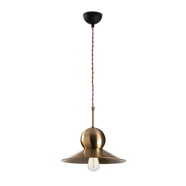 Stathis antikolt arany-fekete fém függőlámpa - Opviq lights