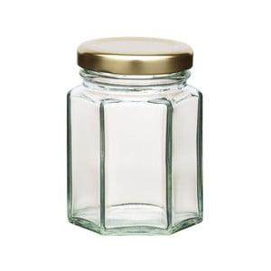 Zavařovací sklenice KitchenCraft Hexagonal, 110ml