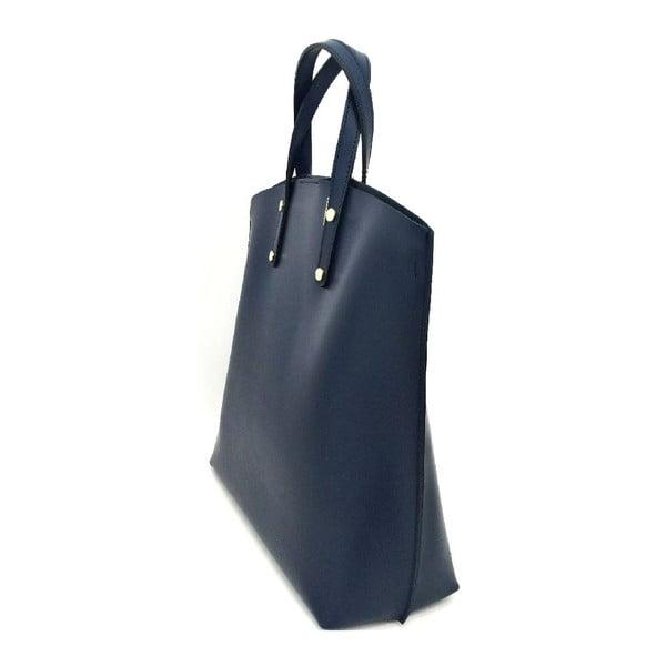 Kožená kabelka Laetitia Dark Blue