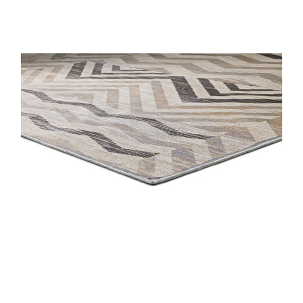 Šedý koberec Universal Belga Aztec, 160 x 230 cm