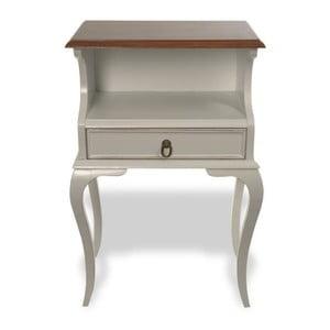 Odkládací stolek Amanda Vintage, 48x31x75 cm