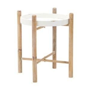 Dřevěný stolek InArt, 51 x 51 cm