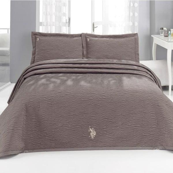 Sada přehozu přes postel a 2 polštářů U.S. Polo Assn. Dayton, 250x260 cm