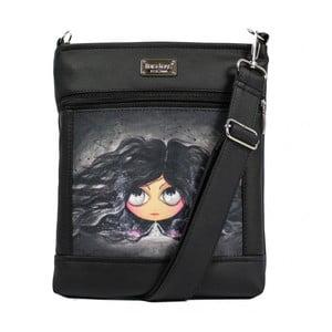 Černá kabelka Dara bags Ruby No.158